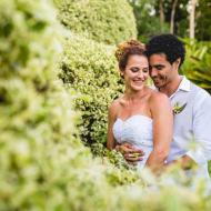 Sharon and Malcolm, Trinity Beach Private Property, December 2014, Cairns Civil Marriage Celebrant, Melanie Serafin