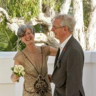 David and Jenny Laughter! December 2013, Palm Cove, Cairns Civil Marriage Celebrant, Melanie Serafin