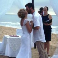 Ellis Beach Wedding, May 2013, Cairns Civil Marriage Celebrant, Melanie Serafin