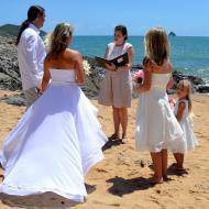 Lee-Ann and Grant, January 2013, Cairns Marriage Celebrant Melanie Serafin