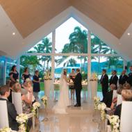 Kim and Luke, Hilton Chapel, June 2013, Cairns Civil Marriage Celebrant, Melanie Serafin