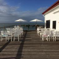 Port Douglas Sugar Wharf Wedding Set-Up, October 2015, Cairns Marriage Celebrant, Melanie Serafin
