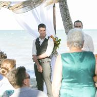 Joey and Aaron, May 2014, Palm Cove, Cairns Civil Marriage Celebrant, Melanie Serafin