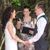 Kay and Jeremy, Cruise Liner Terminal, 2013, Cairns Civil Marriage Celebrant, Melanie Serafin