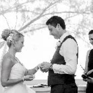 Kylie and Jason, October 2013, St Mary's By The Sea, Cairns Civil Marriage Celebrant, Melanie Serafin