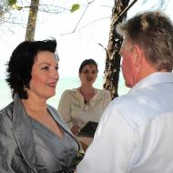 Maggie and Murray, September 2011, Cairns Marriage Celebrant Melanie Serafin