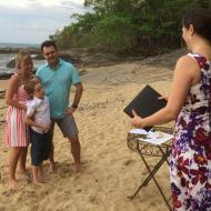 Skye, Michael (and Nate!), Renewal of Vows, Trinity Beach December 2014, Cairns Civil Marriage Celebrant, Melanie Serafin