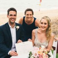 Alix and Markus, Palm Cove, Cairns Marriage Celebrant, Melanie Serafin
